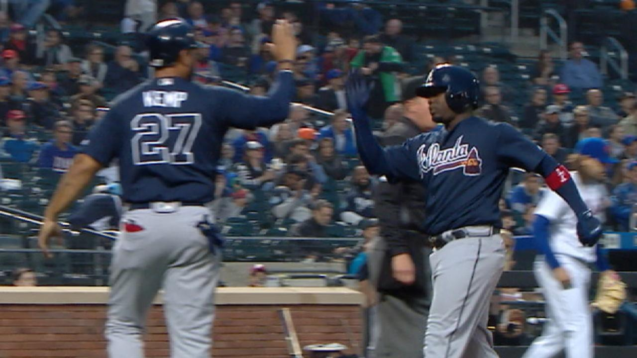 Teheran, 5-run 1st help Braves thump Mets
