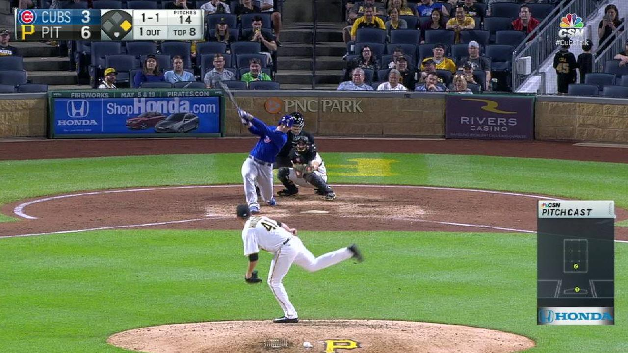 Rizzo homers, drives in 4, but Cubs fall short
