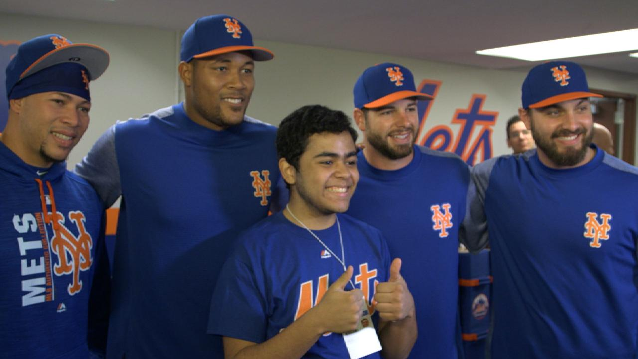 Mets make fan's dream come true