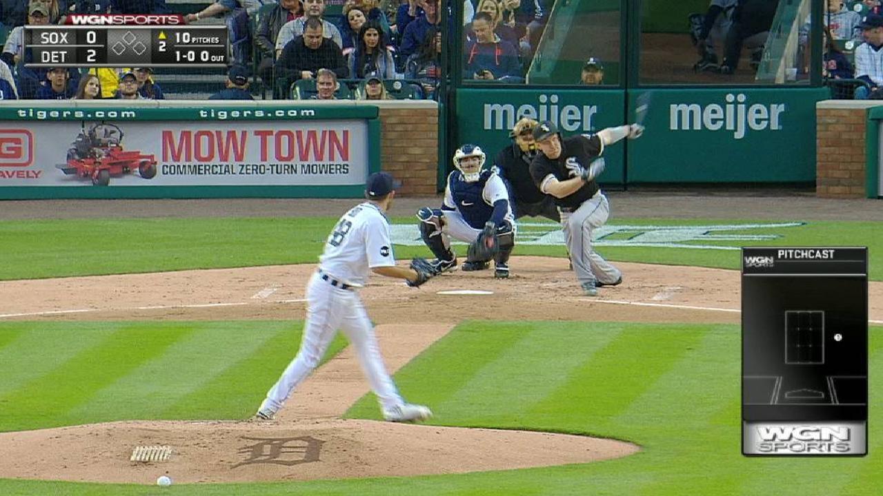 Frazier's solo home run