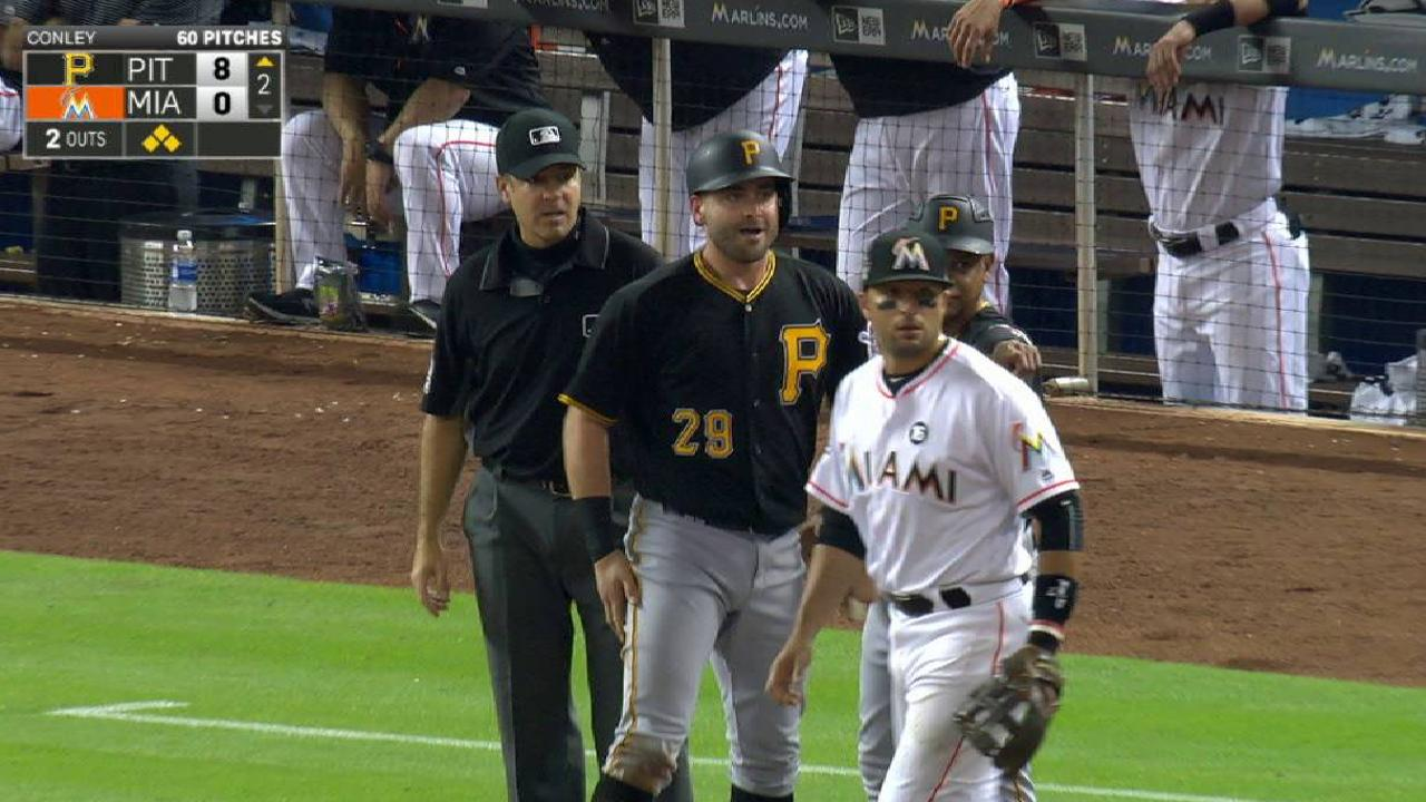 Cervelli out Wednesday, hopes to avoid DL