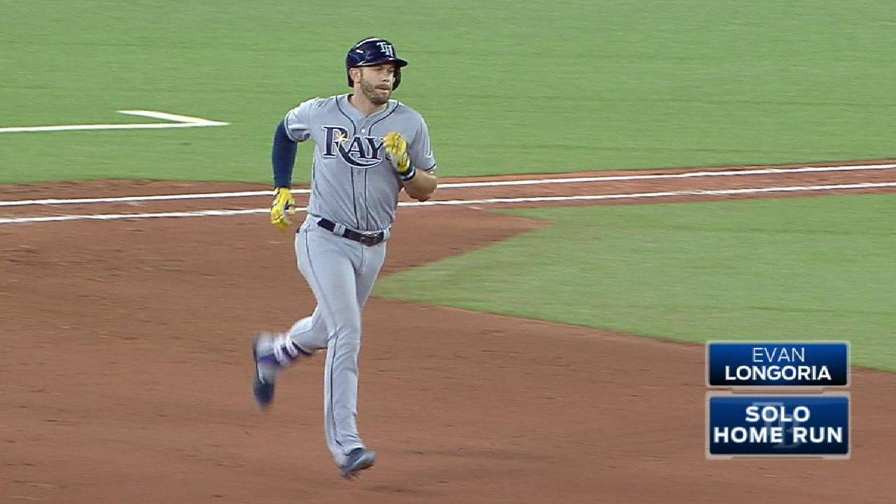 Longoria's return to third will have to wait