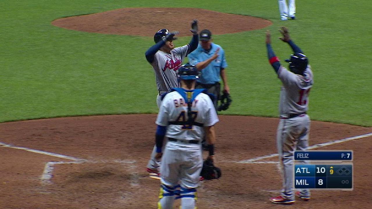 Freeman's go-ahead two-run homer
