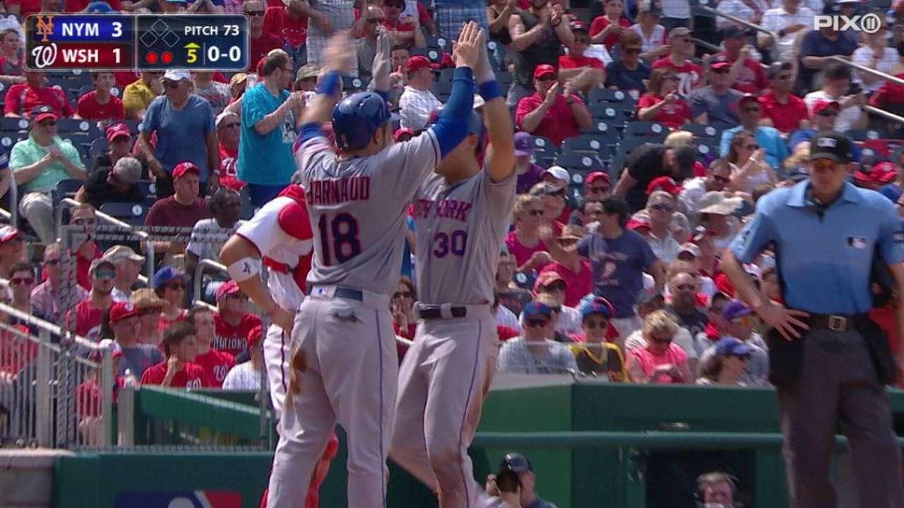 Poder de Conforto catapultó a Mets sobre Nacionales
