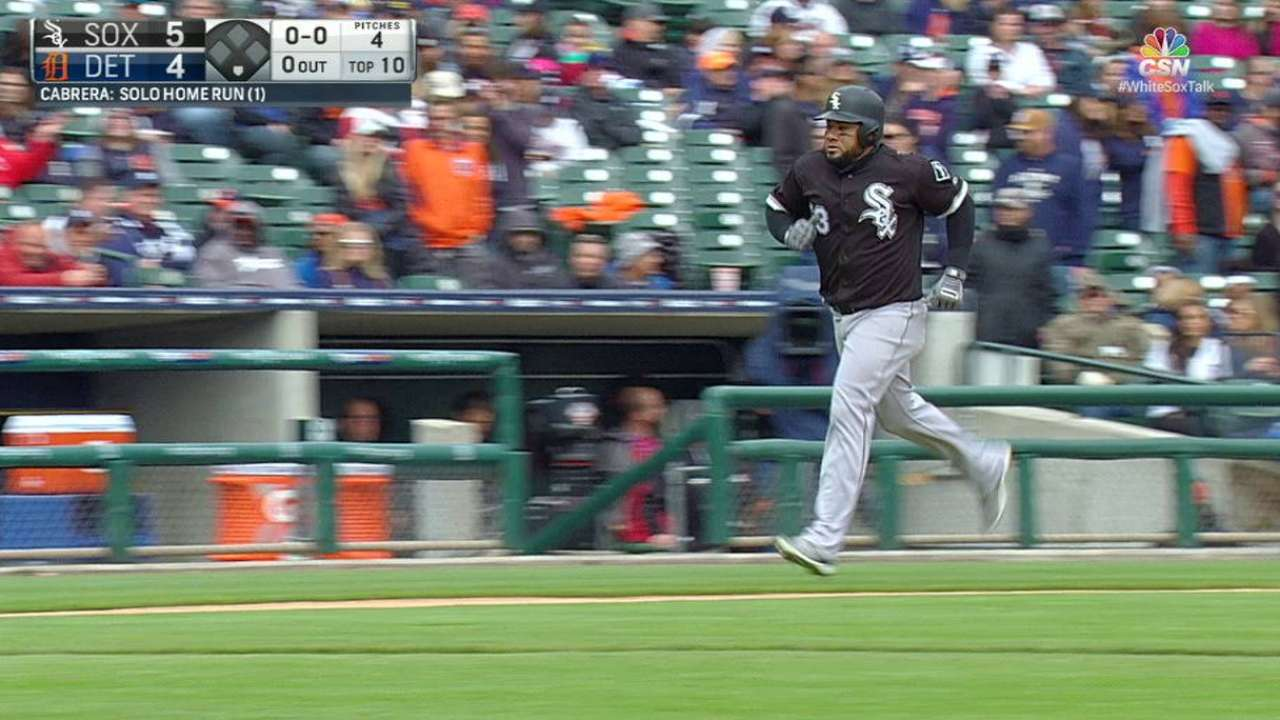 Melky homers in 10th as Sox win 6th straight