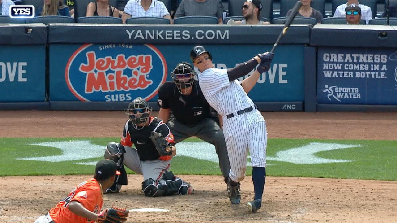 Gardner's 2 HRs, Judge's 10th blast lead NY
