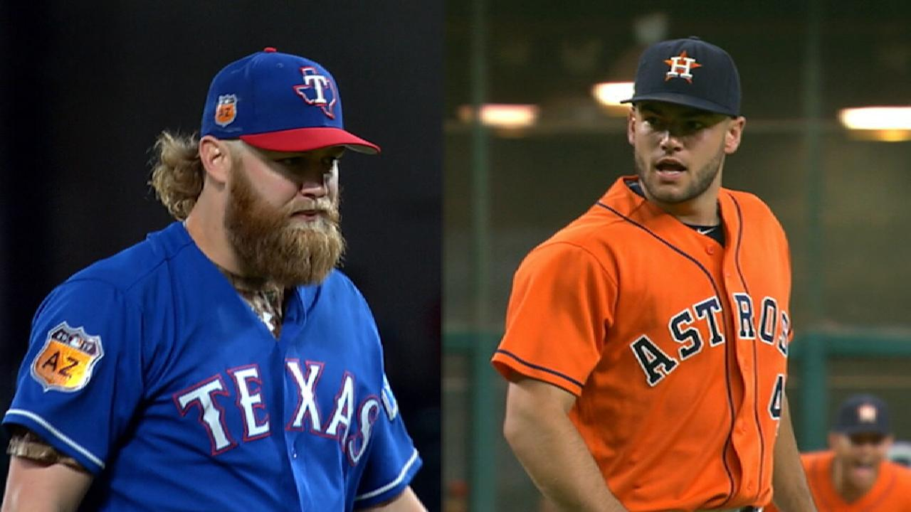 Astros ready to 'bring it' in Rangers showdown