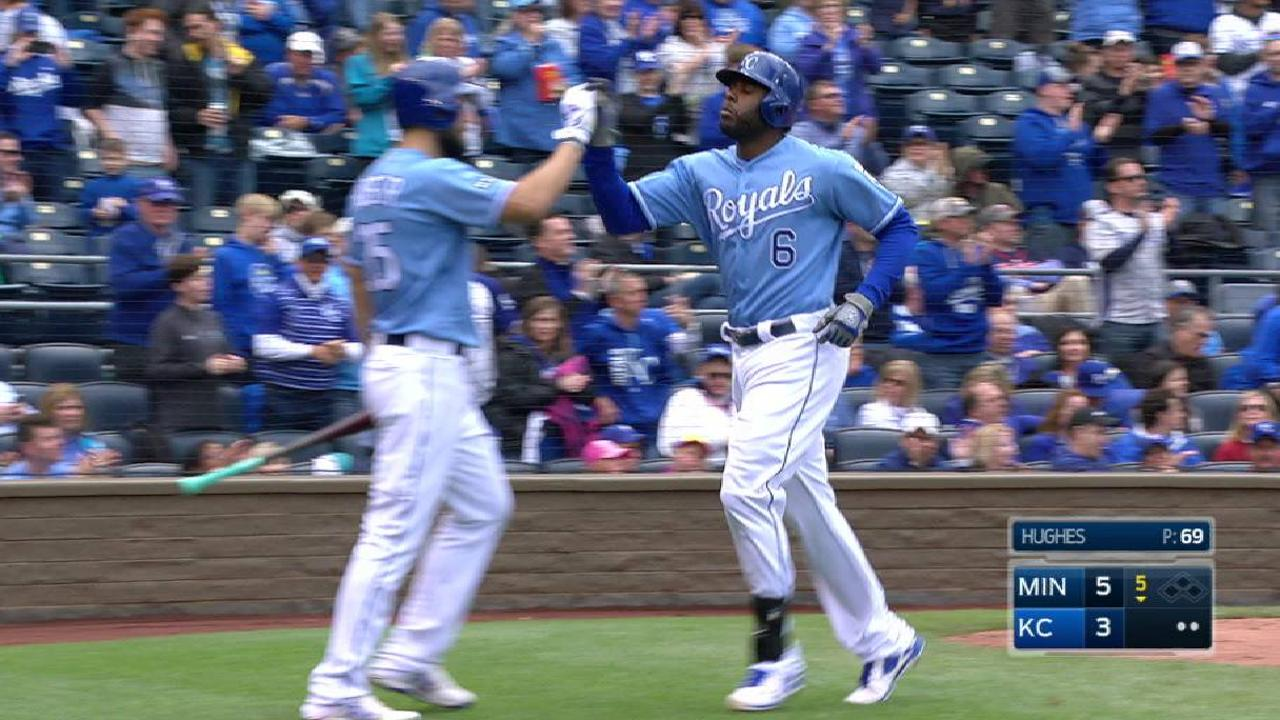 Royals 'shocked' with their April mark of 7-16