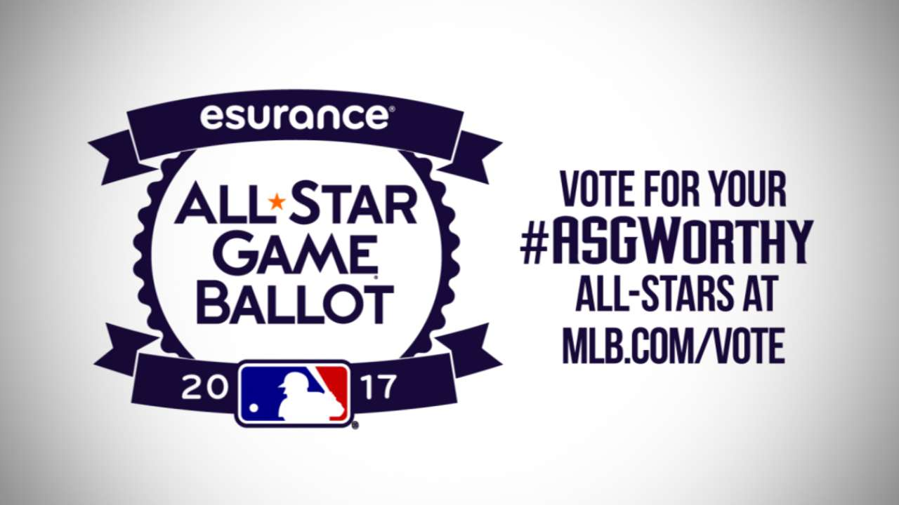 Goldy, D-backs seeking your All-Star vote