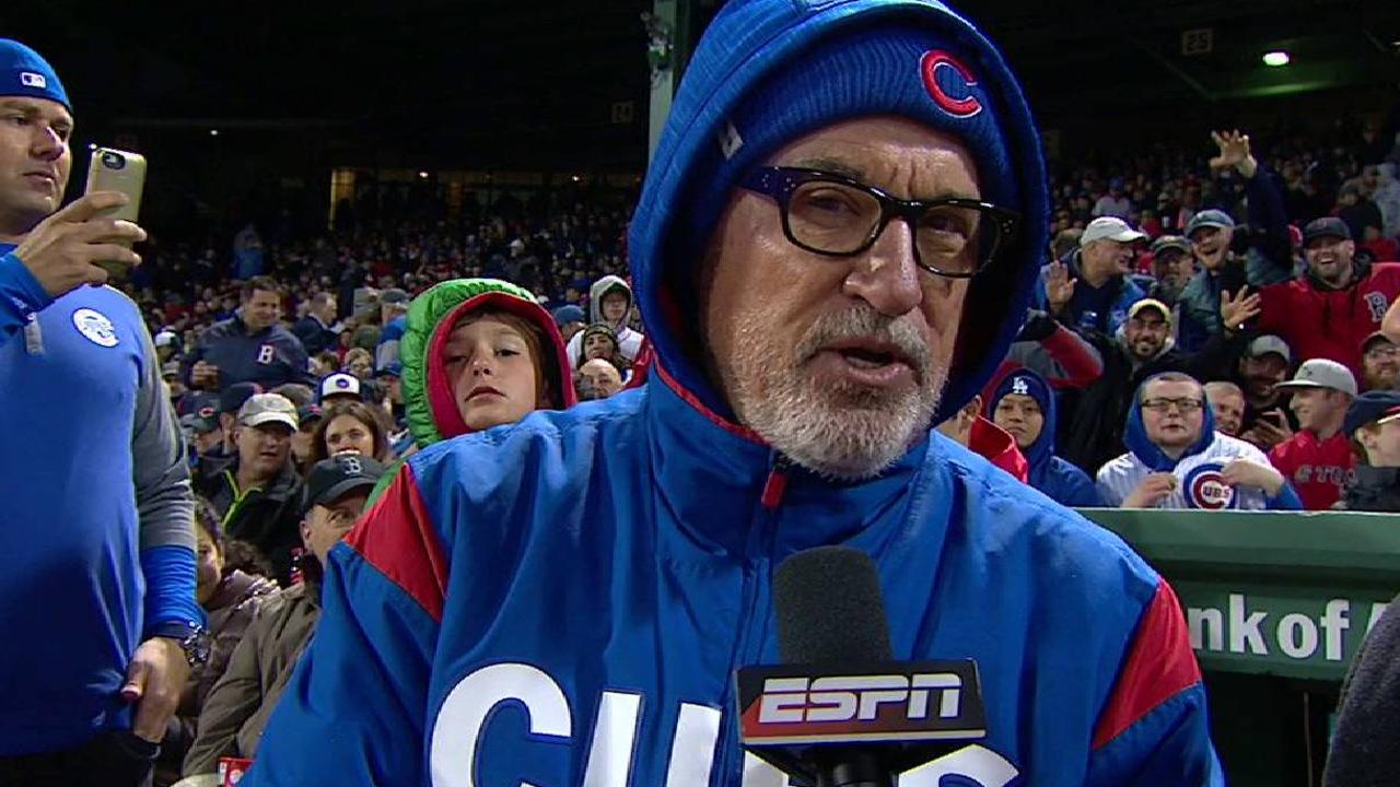 Maddon 'could not be happier' with Cubs