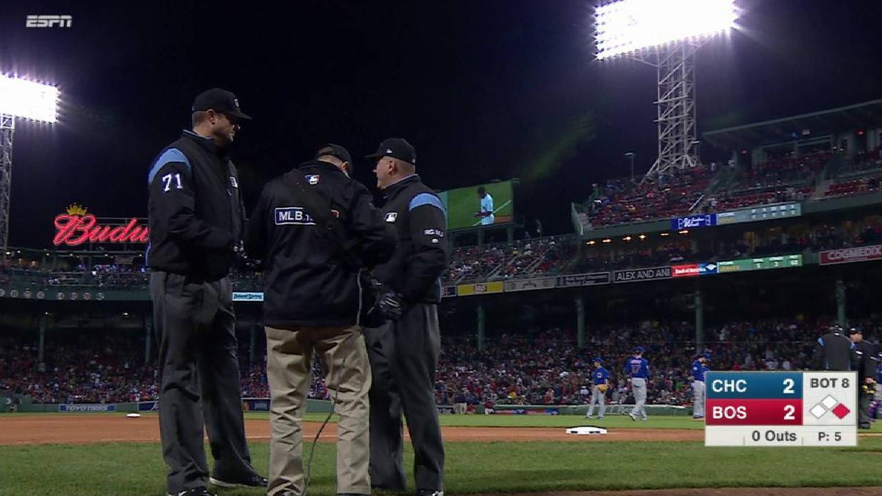 Hernandez safe after review