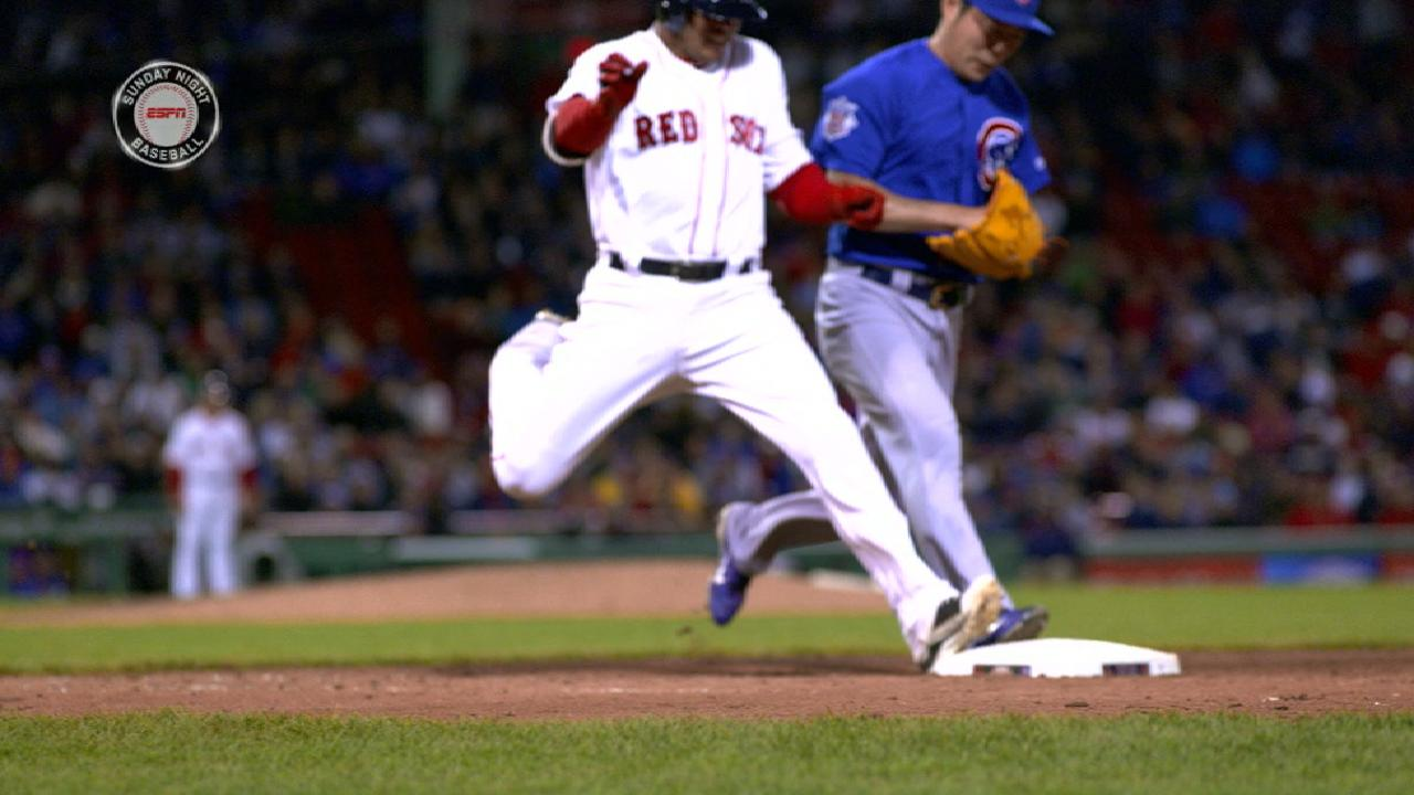 After Uehara loses footrace, floodgates open