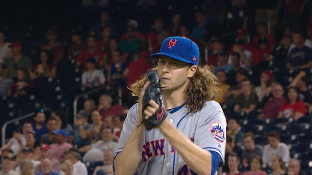 deGrom seeks more K's vs. Braves on MLB.TV