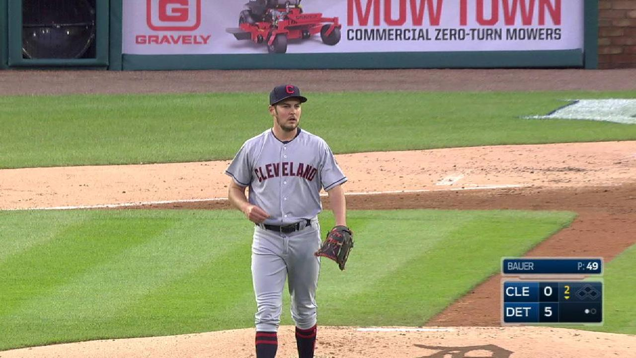 Indians hoping Bauer can break out of funk