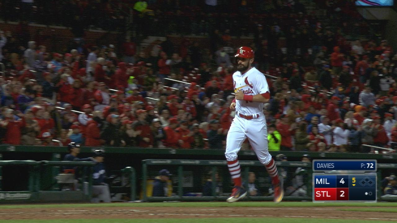 Carpenter goes back-to-back