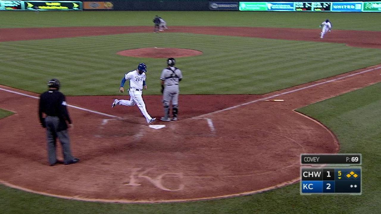 Perez's single brings home two