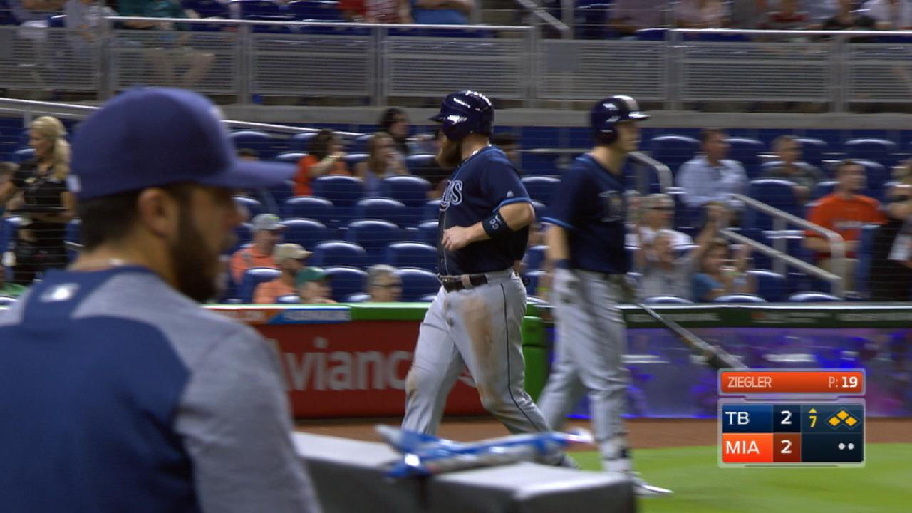 Rays slide to win over Marlins in Odorizzi's return