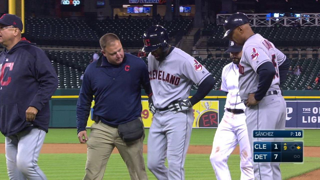 Toe injury forces Tribe's Jackson to DL