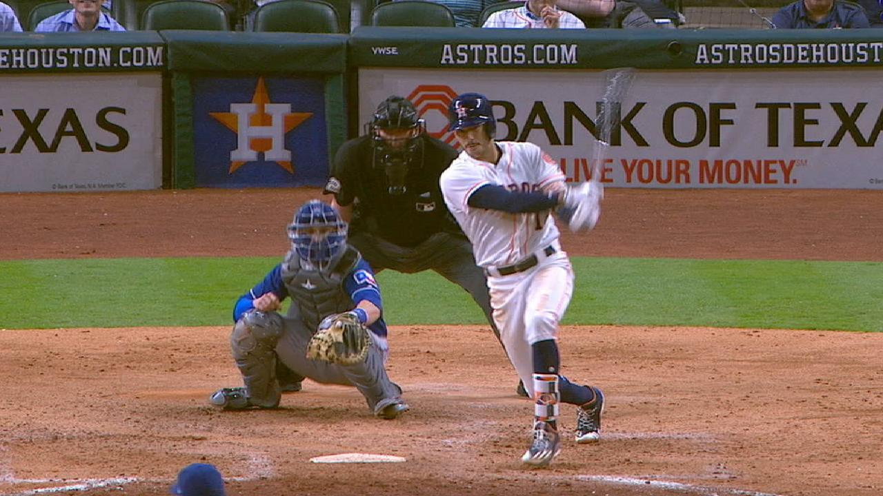Astros KO Rangers after benches clear