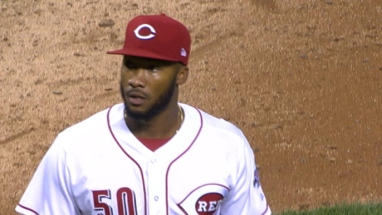 Garrett might be the Reds' post-Cueto ace