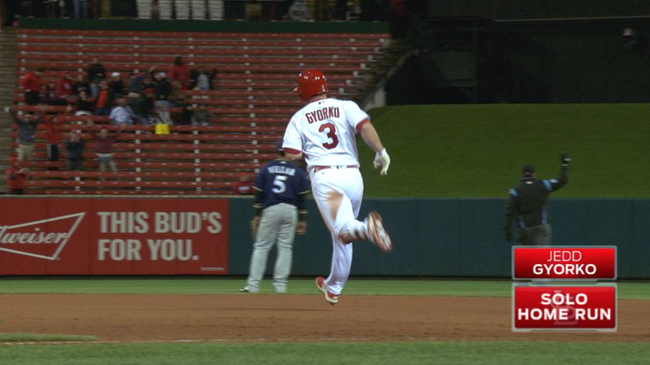 Gyorko taking game to a different level