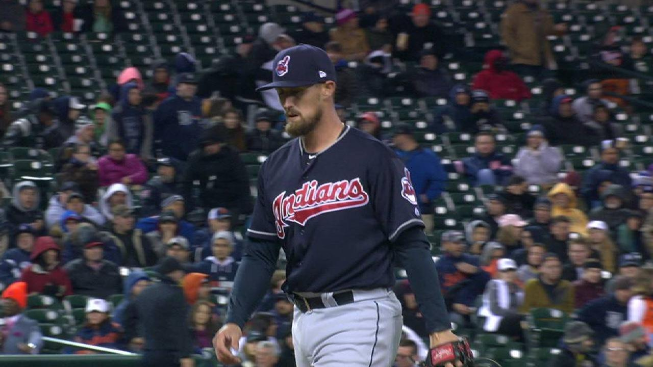 Indians recall Armstrong from Triple-A