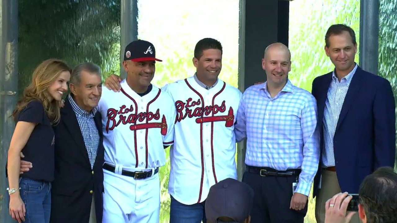 Braves proudly launch Los Bravos