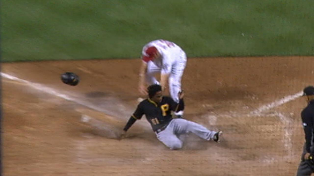 Pirates put up five in the 7th