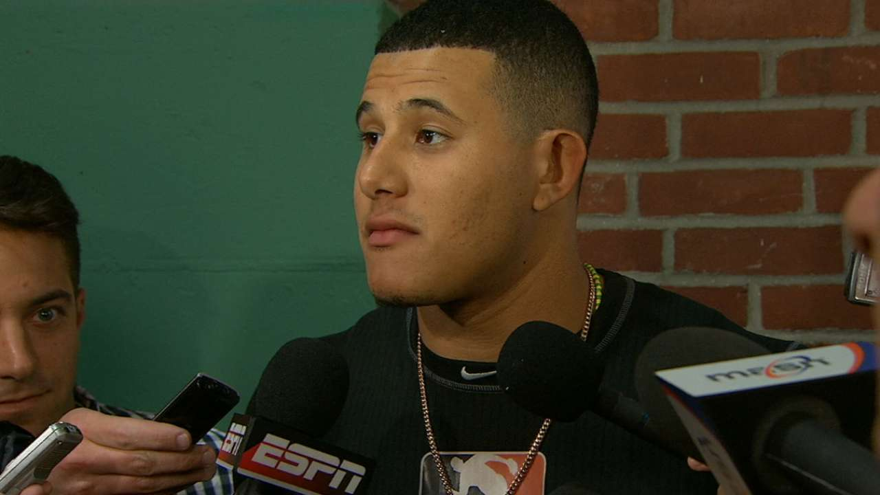 Machado on being thrown at