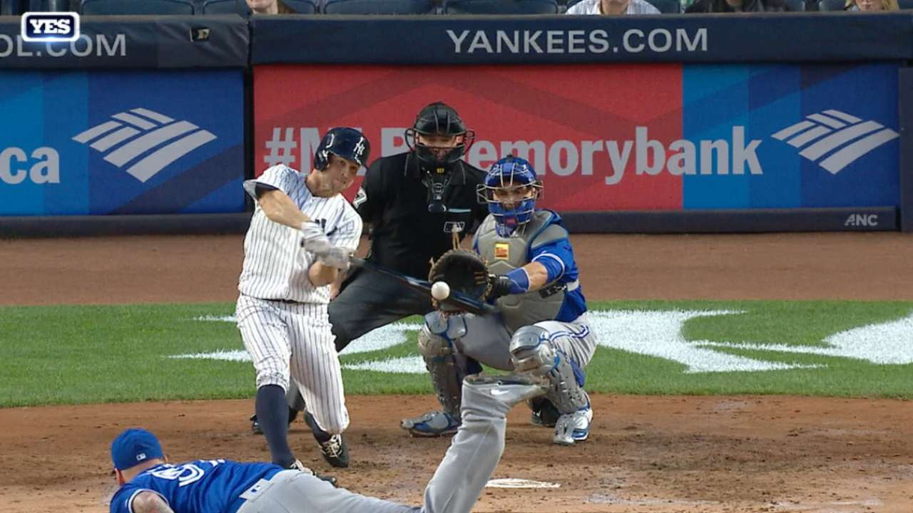 Gardner's two-homer game