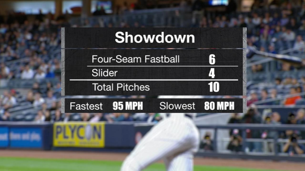 Judge wins 10-pitch battle