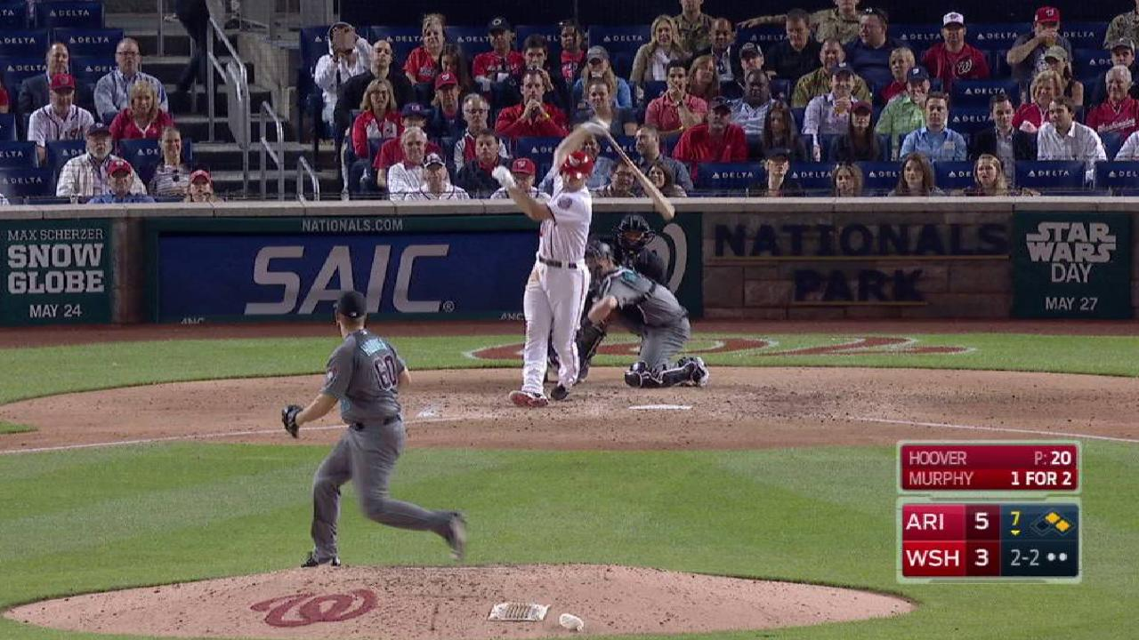 Hoover strikes out Murphy
