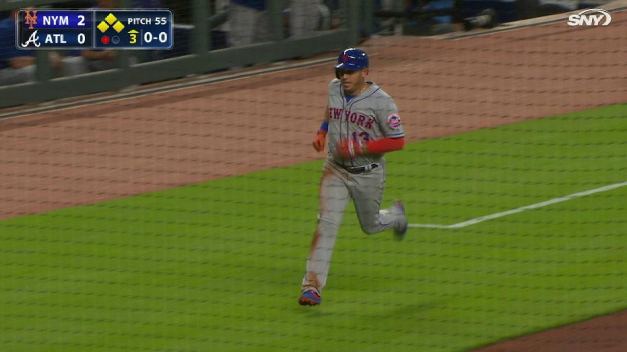 Granderson's RBI double to right