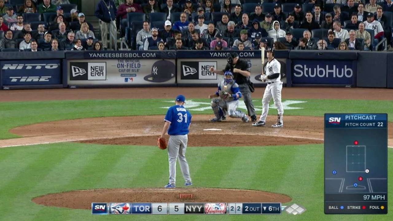 Biagini strikes out Holliday