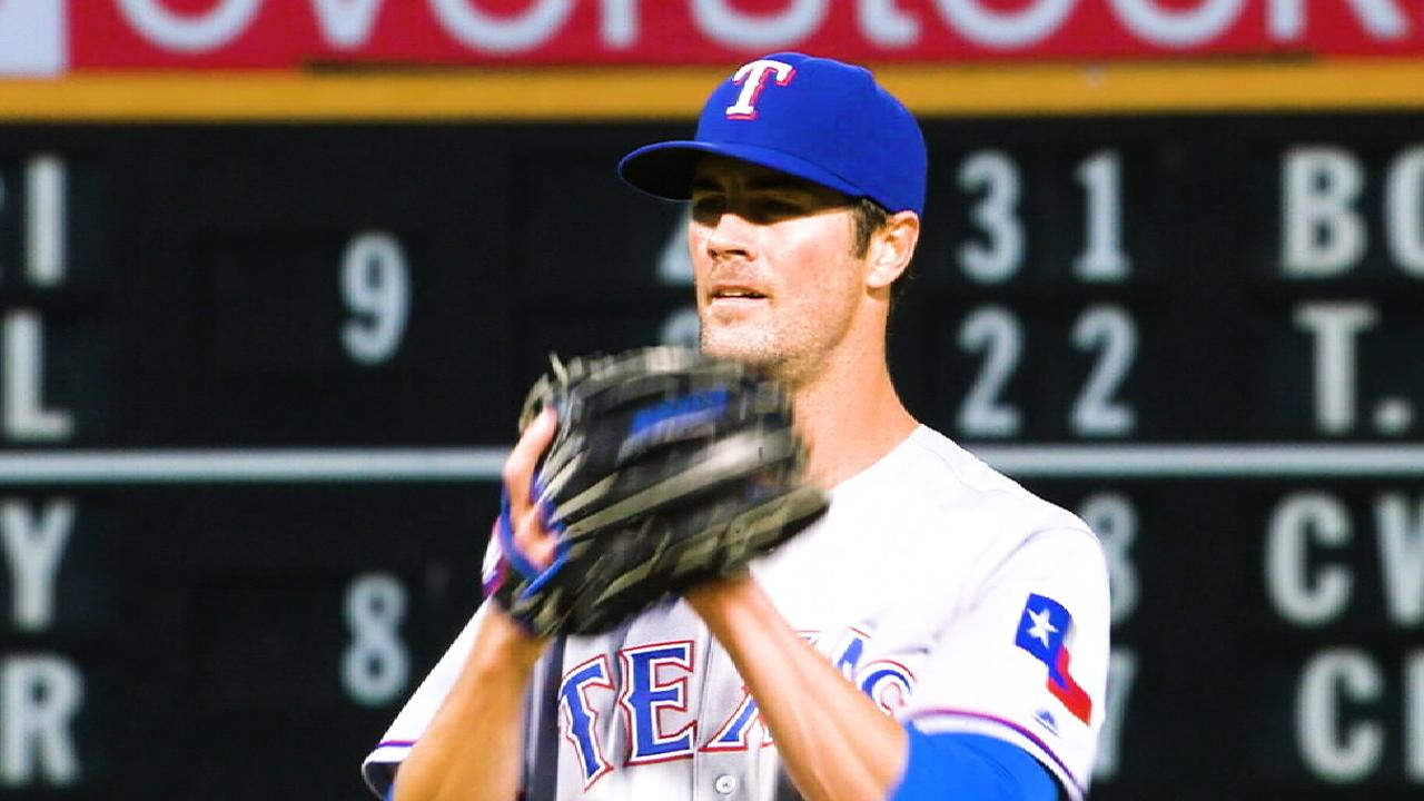 Hamels' injury update