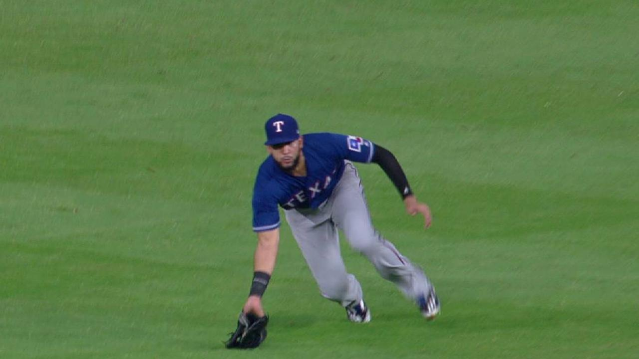Mazara's sliding catch