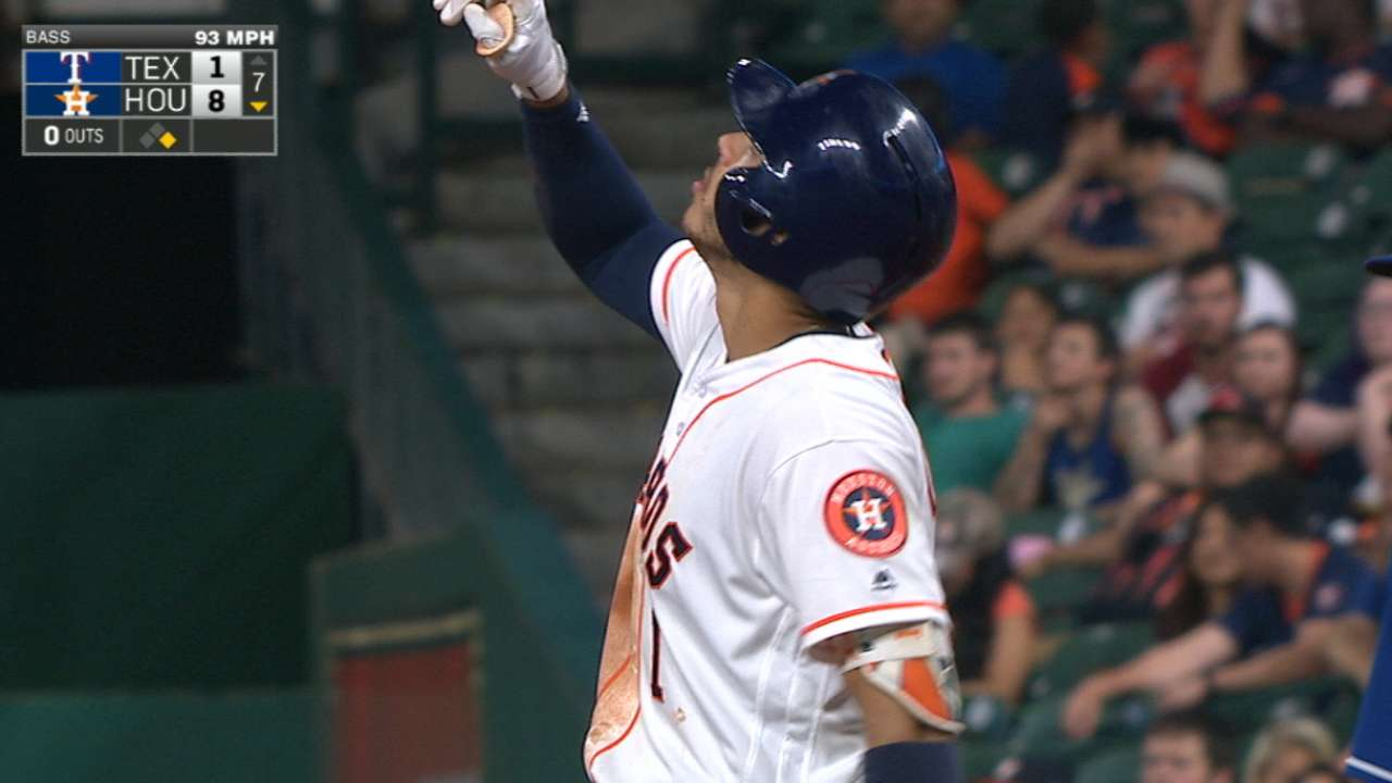 Correa ignites Astros as bat heats up