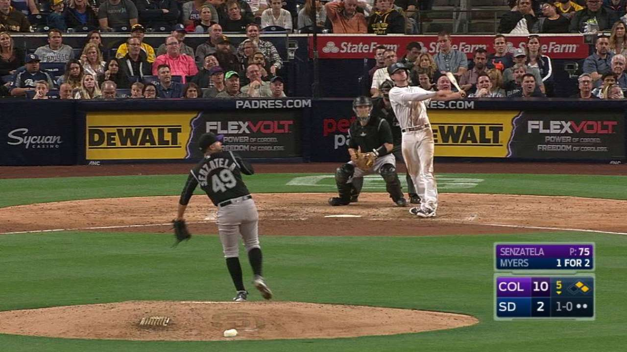 Padres need improvement in situational hitting