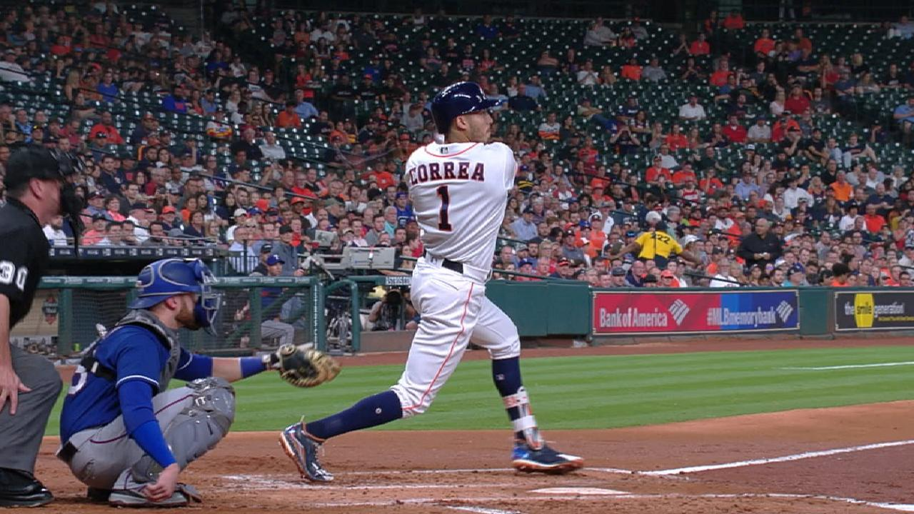 Correa and Springer on 10-1 win