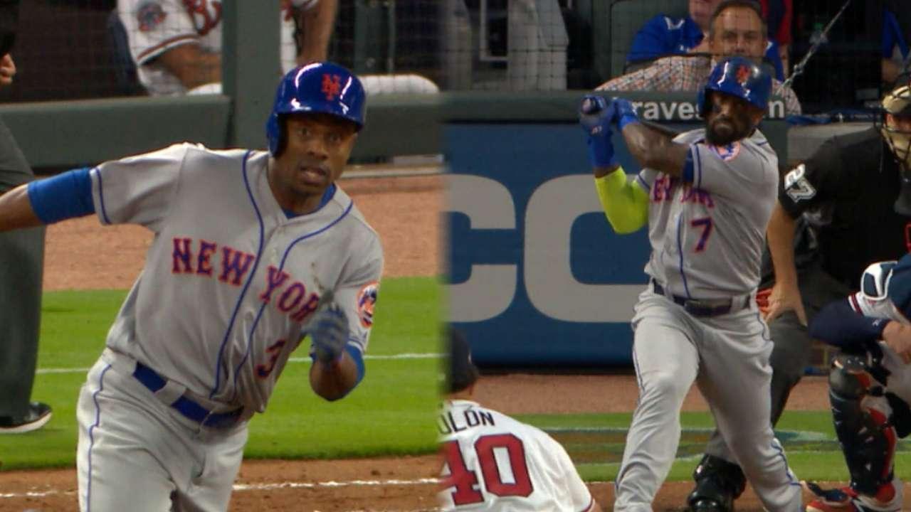 Granderson, Reyes on blowout win