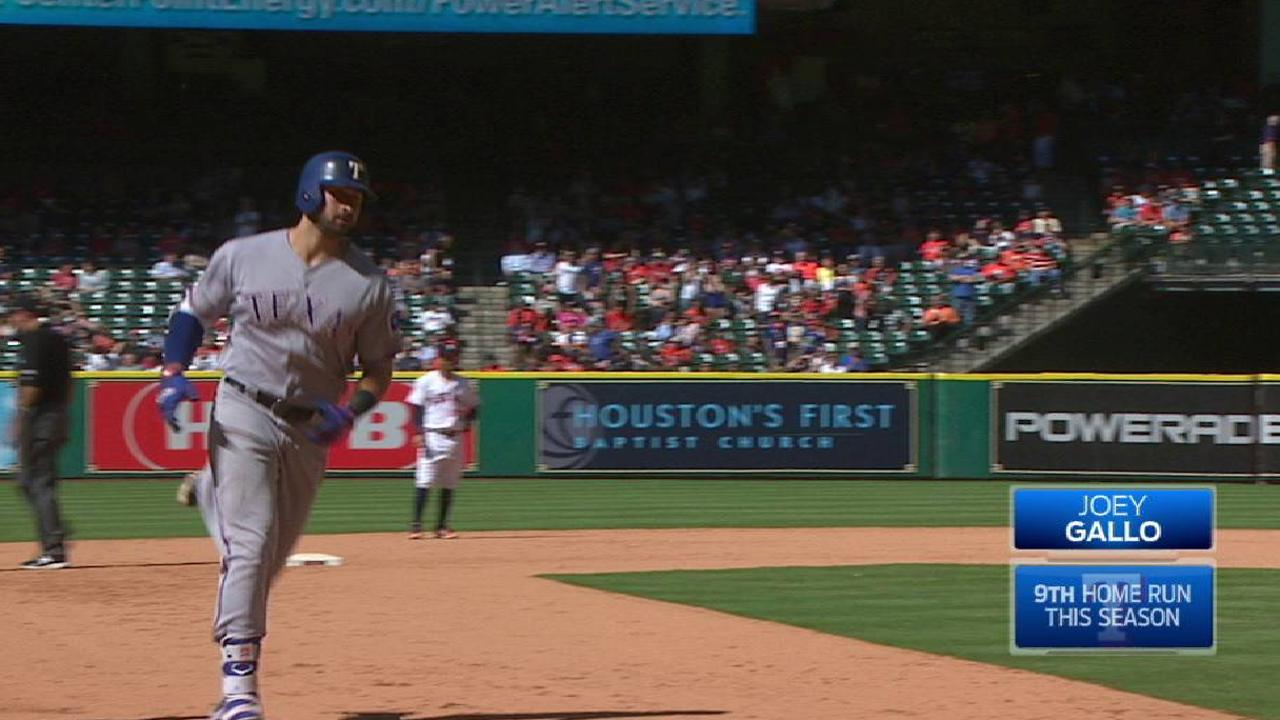Gallo's two-run home run