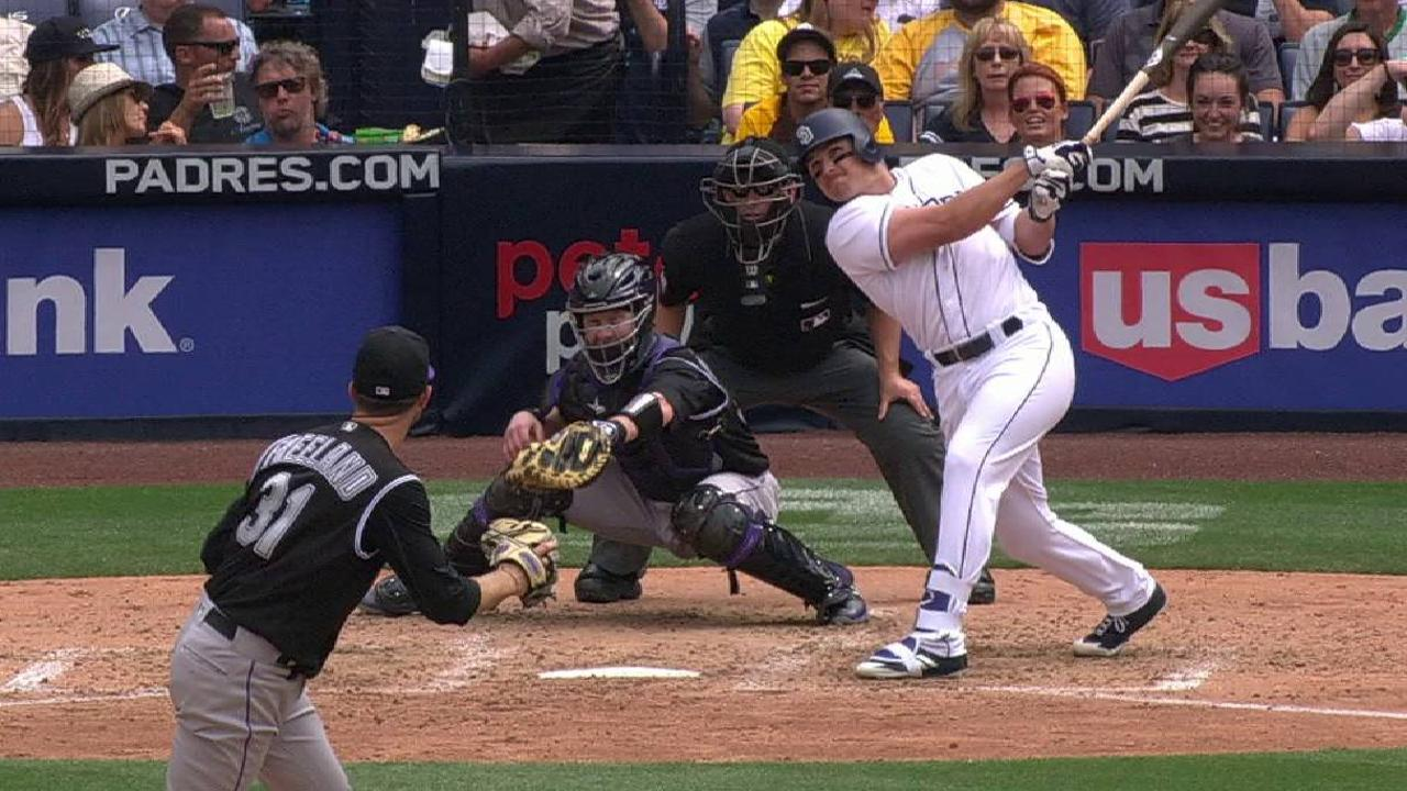 Padres go hitless with men in scoring position