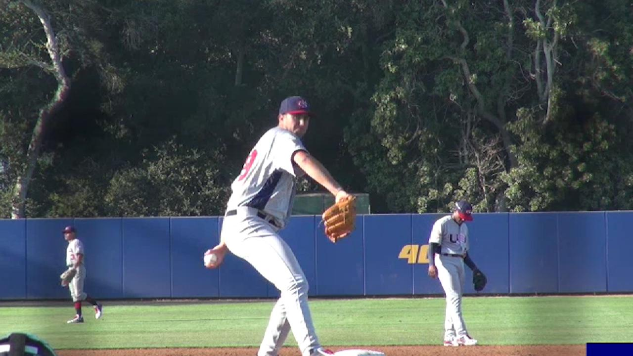 2017 Draft: David Peterson, LHP