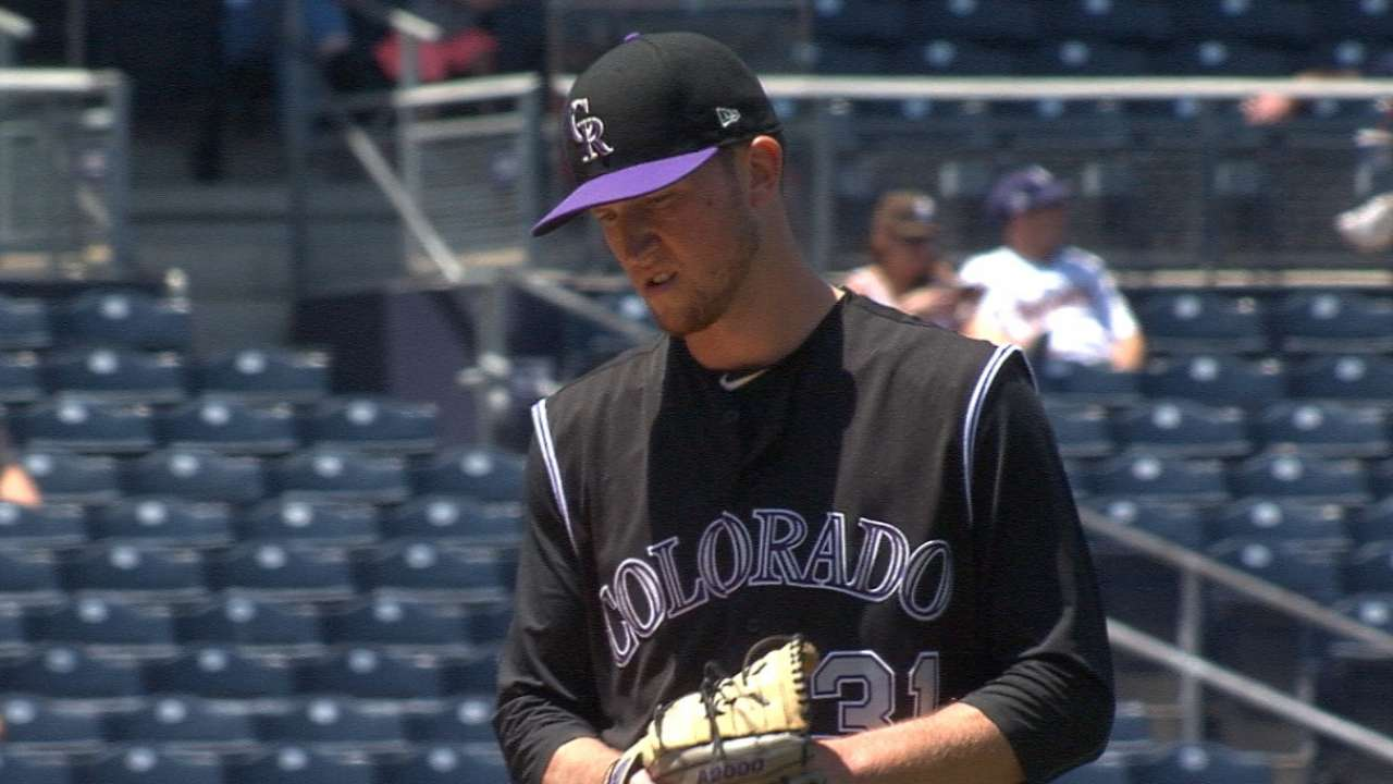 Rockies get solid road pitching from rookies