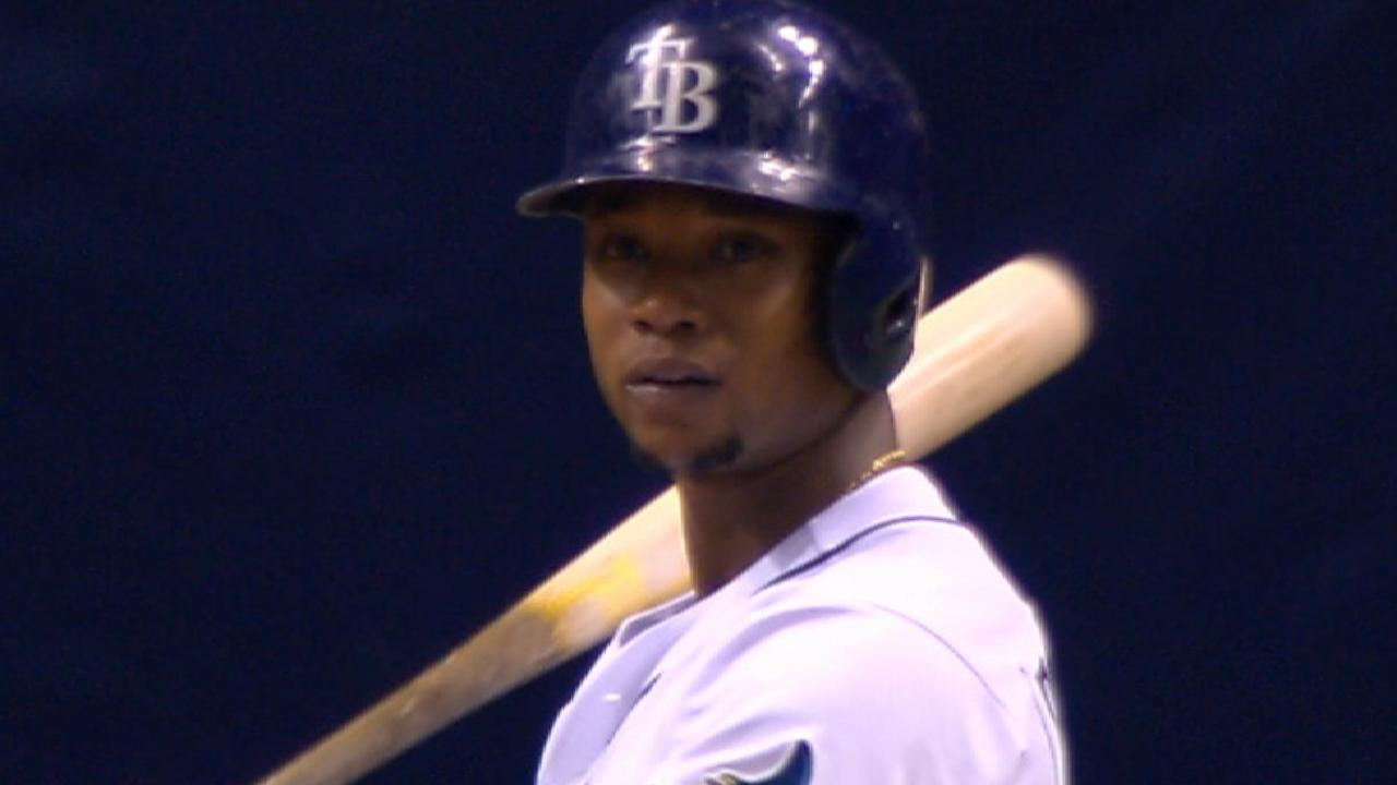 Beckham's 2 HRs lead Rays past Marlins