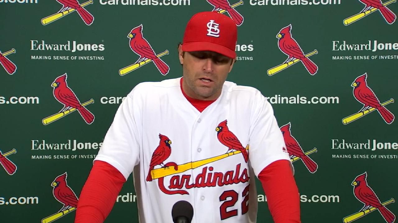 Matheny on loss to Brewers