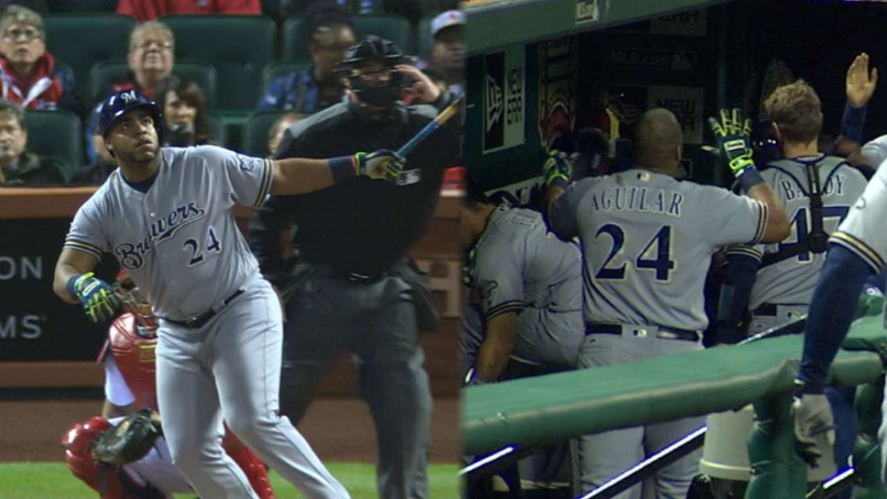 Keon sets table; Aguilar adds a pinch in STL