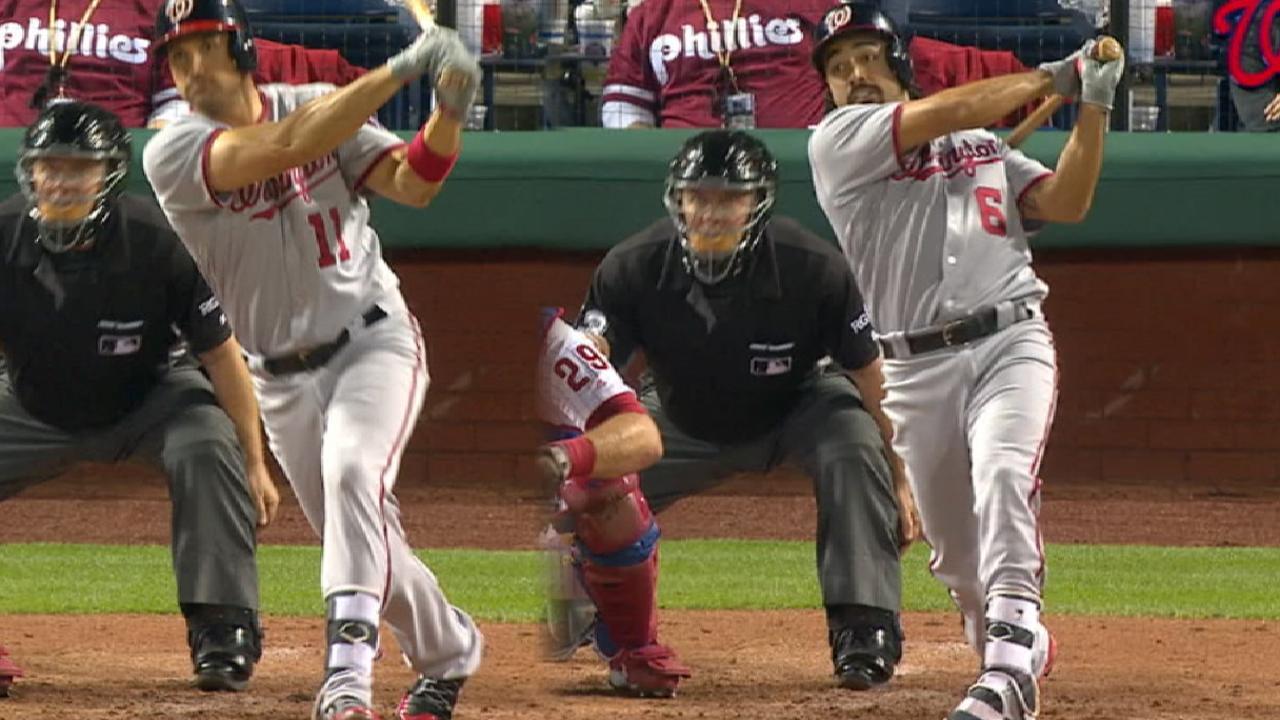 Zimmerman, Rendon smash homers