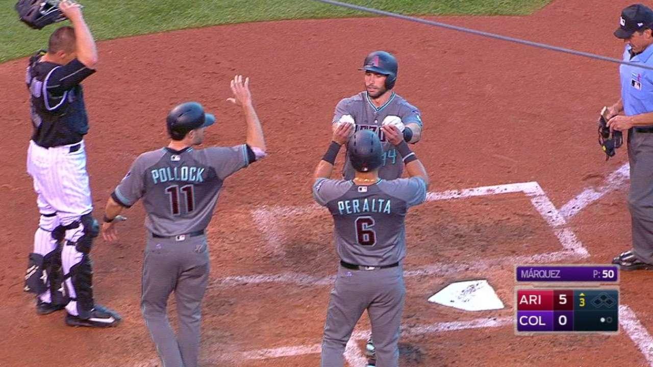 Goldschmidt's second home run