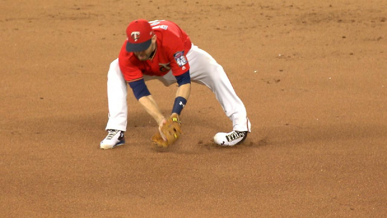 Dozier stays in game
